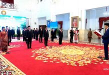 Presiden Jokowi Lantik 20 Duta Besar RI untuk Negara Sahabat.