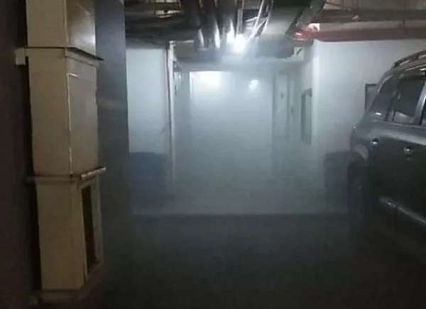 Lift Gedung Nusantara I DPR RI Terbakar.