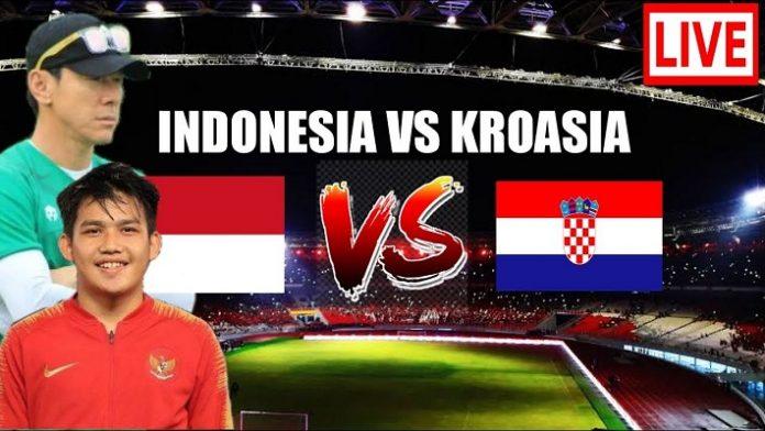 Jadwal Pertandingan Timnas Indonesia U-19 Vs Kroasia.