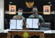 Kementan-TNI AD Sepakat Perkokoh Kesiapan Penyediaan Pangan.