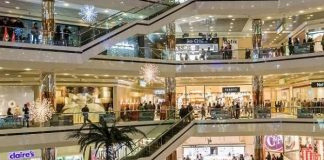 Ilustrasi Pusat Perbelanjaan atau Mall.