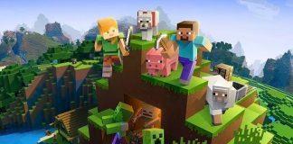 Ilustrasi Permainan Minecraft.