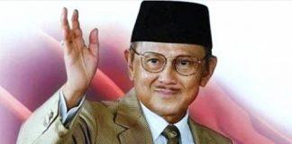 Presiden RI ke-3,BJ Habibie.