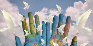 Ilustrasi Hari Perdamaian Internasional.