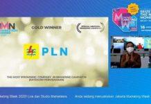 PLN Meraih Tiga Penghargaan di Ajang BUMN Marketeers Award 2020.