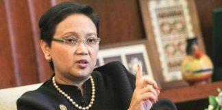 Menteri Luar Negeri (Menlu) Indonesia, Retno Marsudi.
