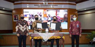 kerjasama antara BNI dengan Fidac yang ditandai dengan penandatanganan Perjanjian Kerja Sama (PKS).