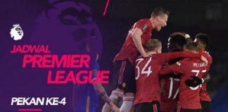 Jadwal Liga Inggris Pekan Keempat, Duel MU vs Tottenham Hotspur.