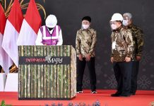 Presiden Jokowi Resmikan Pabrik Gula di Bombana.