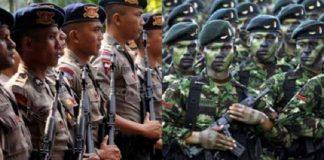 Ribuan Personel TNI-Polri Amankan Demo di Istana Negara.