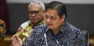 Menteri Koordinator (Menko) bidang PerekonomiaMenteri Koordinator (Menko) bidang Perekonomian Airlangga Hartarto.n Airlangga Hartarto.