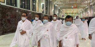 Jusuf Kalla Tunaikan Umrah di Tengah Pandemi Covid-19.
