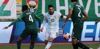 Hasil Pertandingan Kualifikasi Piala Dunia 2022, Bolivia vs Argentina.