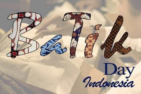 Ilustrasi Hari Batik Nasional.