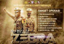 Polri Gelar Operasi Zebra se-Indonesia.