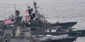 Amerika-Jepang Latihan Perang Berskala Besar, Unjuk Kekuatan pada China.