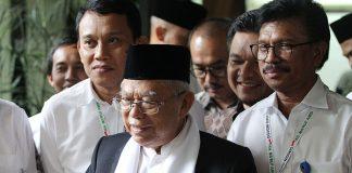 Wakil Presiden (Wapres) RI Ma'ruf Amin.