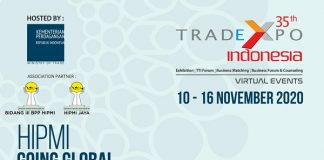 HIPMI Ajak Pengusaha se-Indonesia ikut Trade Expo Indonesia 2020.