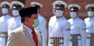 Menteri Pertahanan (Menhan), Prabowo Subianto.