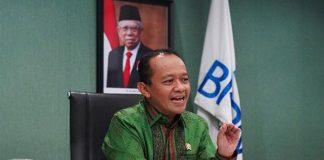 Kepala Badan Koordinasi Penanaman Modal (BKPM) Bahlil Lahadalia.