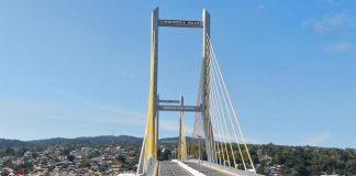 Resmikan Jembatan Teluk Kendari, Jokowi: Kendari Makin Menarik untuk Pengembangan Kawasan dan Usaha Baru.