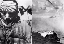 Ilustrasi Jepang Lakukan Serangan Kamikaze.