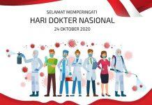 Ilustrasi Ucapan Selamat Hari Dokter Nasional.