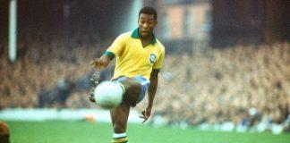 Edson Arantes do Nascimento atau lebih dikenal sebagai Pelé.
