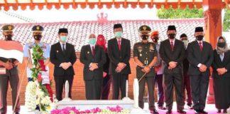HUT ke-75 Jawa Timur, Gubernur Khofifah Ajak Milenial Teladani Perjuangan Pahlawan.