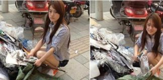 Viral, Lolita Pemulung Cantik Cari Sampah di Jalanan Pakai Hotpants.