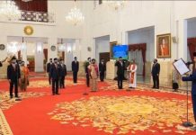 Presiden Jokowi Lantik 12 Duta Besar RI untuk Negara Sahabat.
