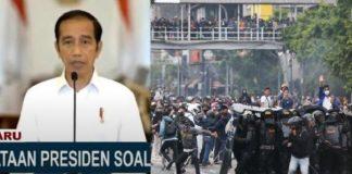 Pidato Lengkap Presiden Jokowi soal UU Cipta Kerja.