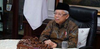 Wakil Presiden Republik Indonesia Ma'ruf Amin.