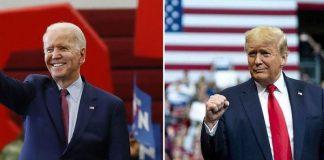 Joe Biden dan Donald Trump.