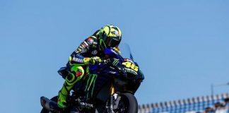 Pembalap Tim Monster Energy Yamaha,Valentino Rossi.