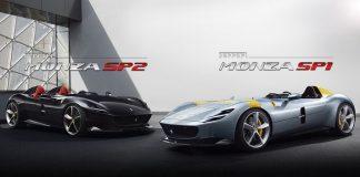 Ferrari Monza SP1 dan Ferrari Monza SP2.
