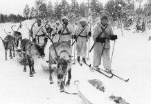 Ilustrasi Perang Musim Dingin.