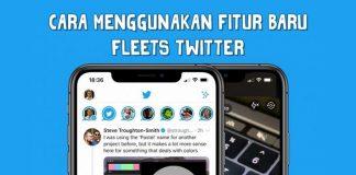 Cara Gunakan Fitur Fleet Twitter.