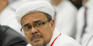 Muhammad Rizieq Bin Husein Shihab atau populer dengan nama Habib Rizieq Shihab (HRS).