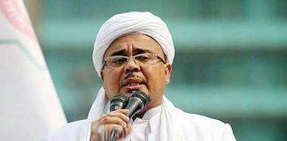 Imam Besar Front Pembela Islam (FPI)Habib Rizieq Shihab.
