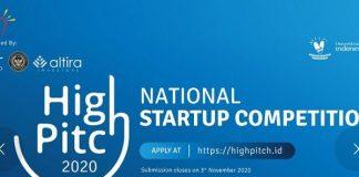 Kemenparekraf Gelar Kompetisi StartupHighPitch 2020.
