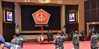 Panglima TNI Hadi Naikkan Pangkat 11 Perwira Tinggi.