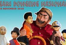 Ilustrasi Hari Dongeng Nasional.