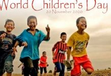 Hari Anak Sedunia.