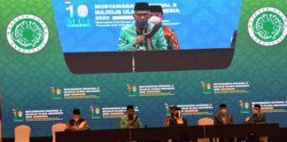 Musyawarah Nasional (Munas) X MUI yang digelar di Hotel Sultan, Jakarta.