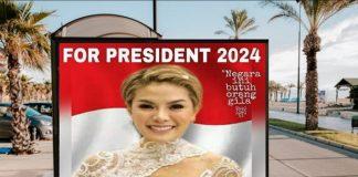 Trending #KitaNikita di Medsos, Nikita Mirzani For President 2024.