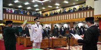 Mendagri Tito Karnavian Lantik Gubernur Aceh.