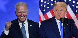 Hasil Sementara Pilpres AS Trump vs Biden.