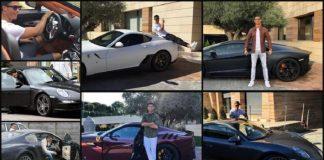Koleksi Mobil Mewah Mahal Cristiano Ronaldo.