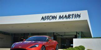 Aston Martin Vanquish Zagato Coupe.